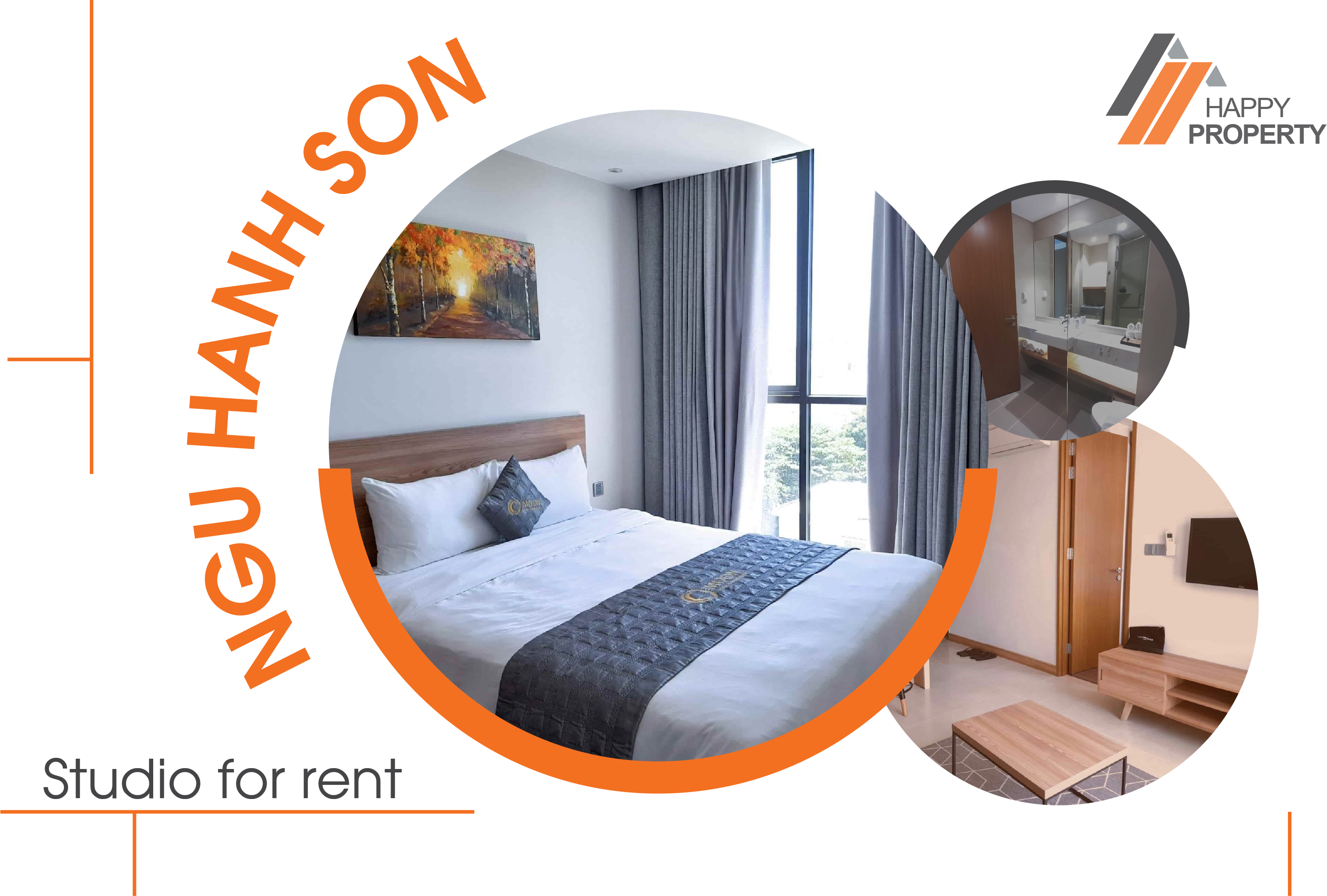 TWO BEDROOM APARTMENT FOR RENT – NGU HANH SON AREA – NHS09