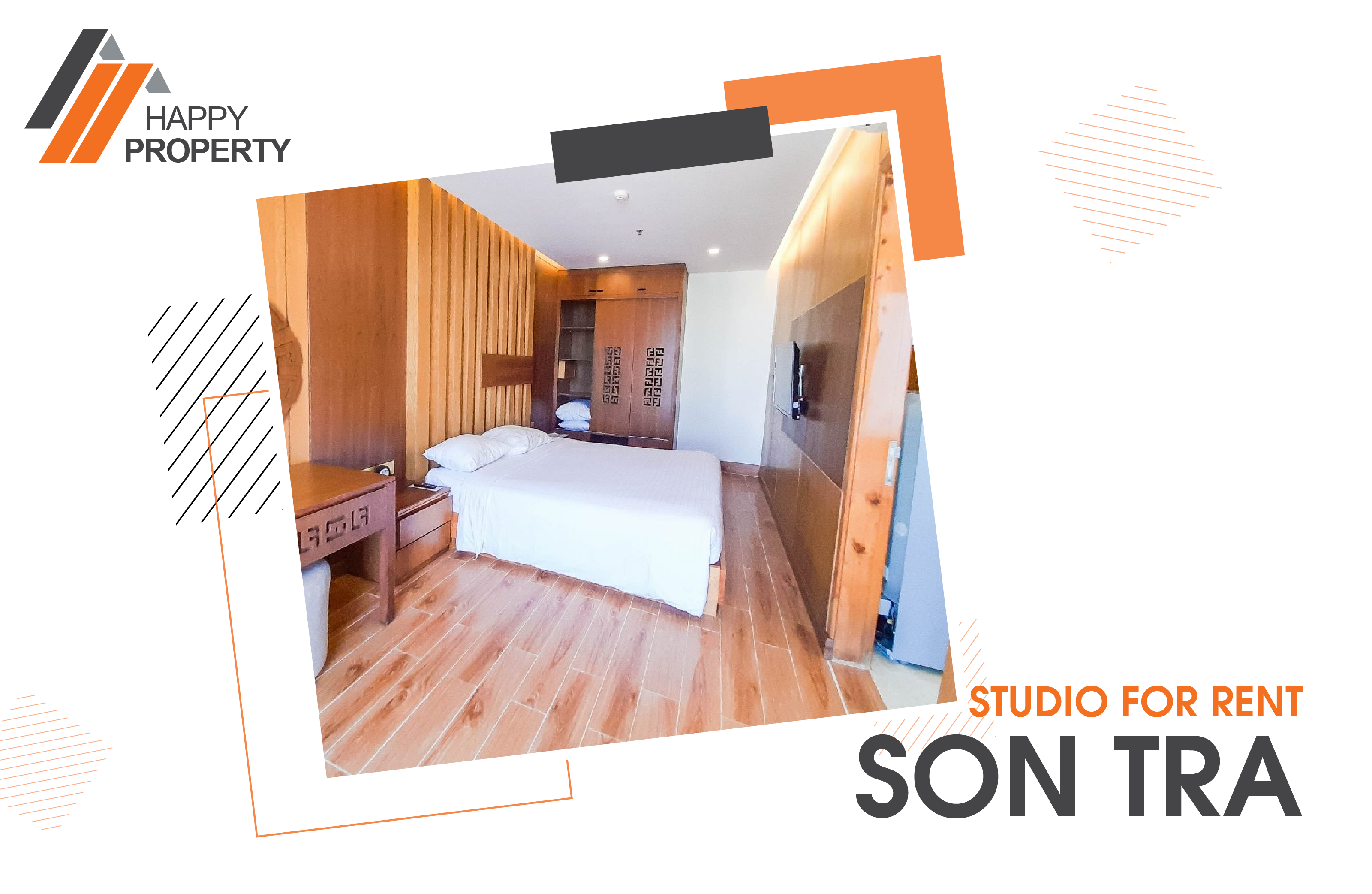 LUXURY 2 BEDROOM APARTMENT FOR RENT IN SON TRA AREA – ST06