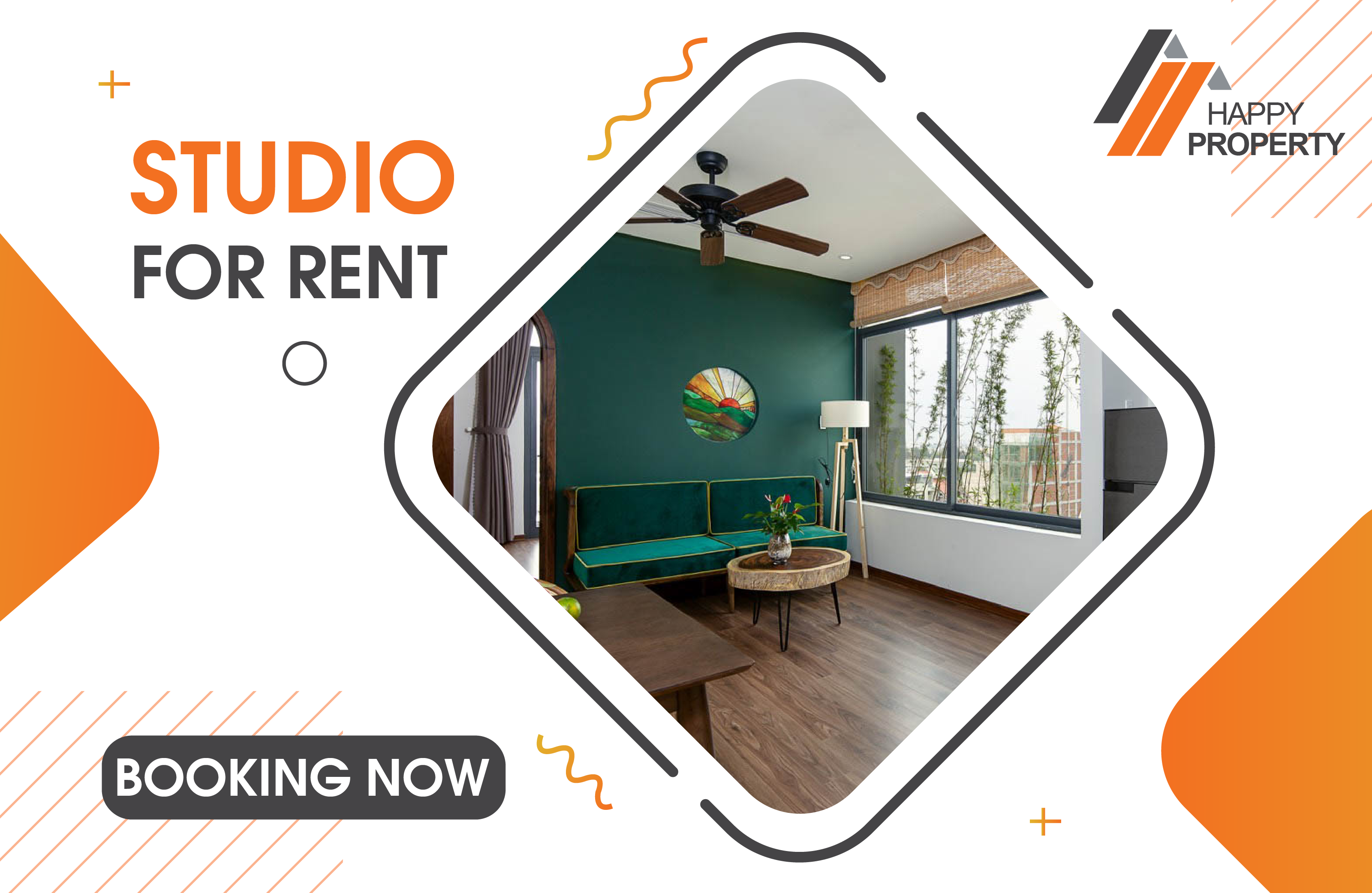 1 Bedroom Tropical House Apartment For Rent – ST15