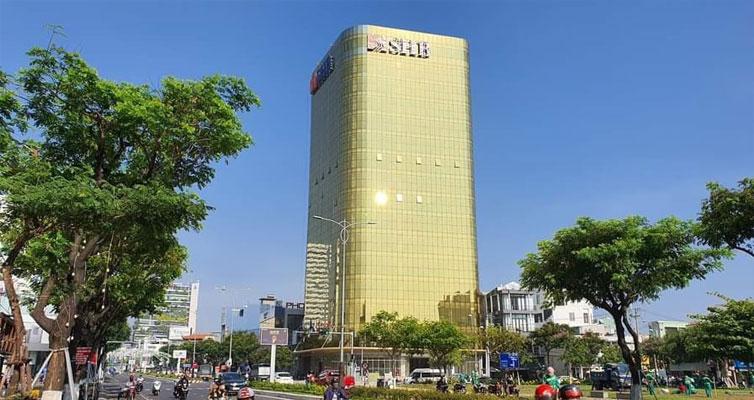 Văn phòng cho thuê Đà Nẵng thuộc tòa nhà SHB